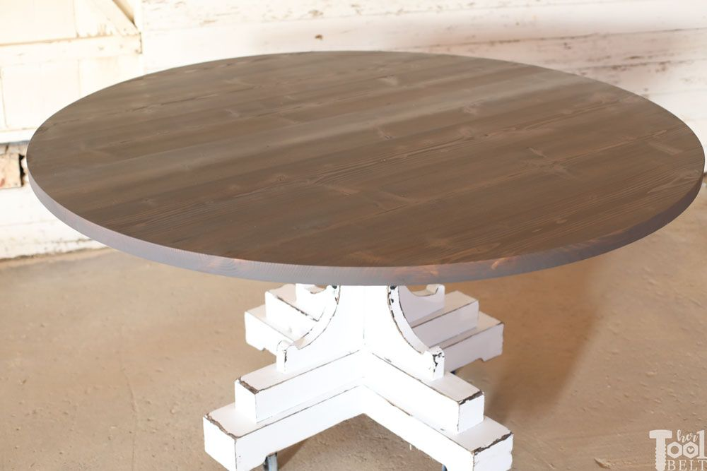 60 Inch Round Table French Farmhouse Style 60 Inch Round Table
