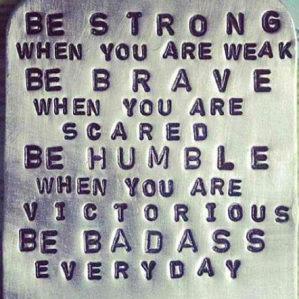 Be BADASS everyday!   【ツ】