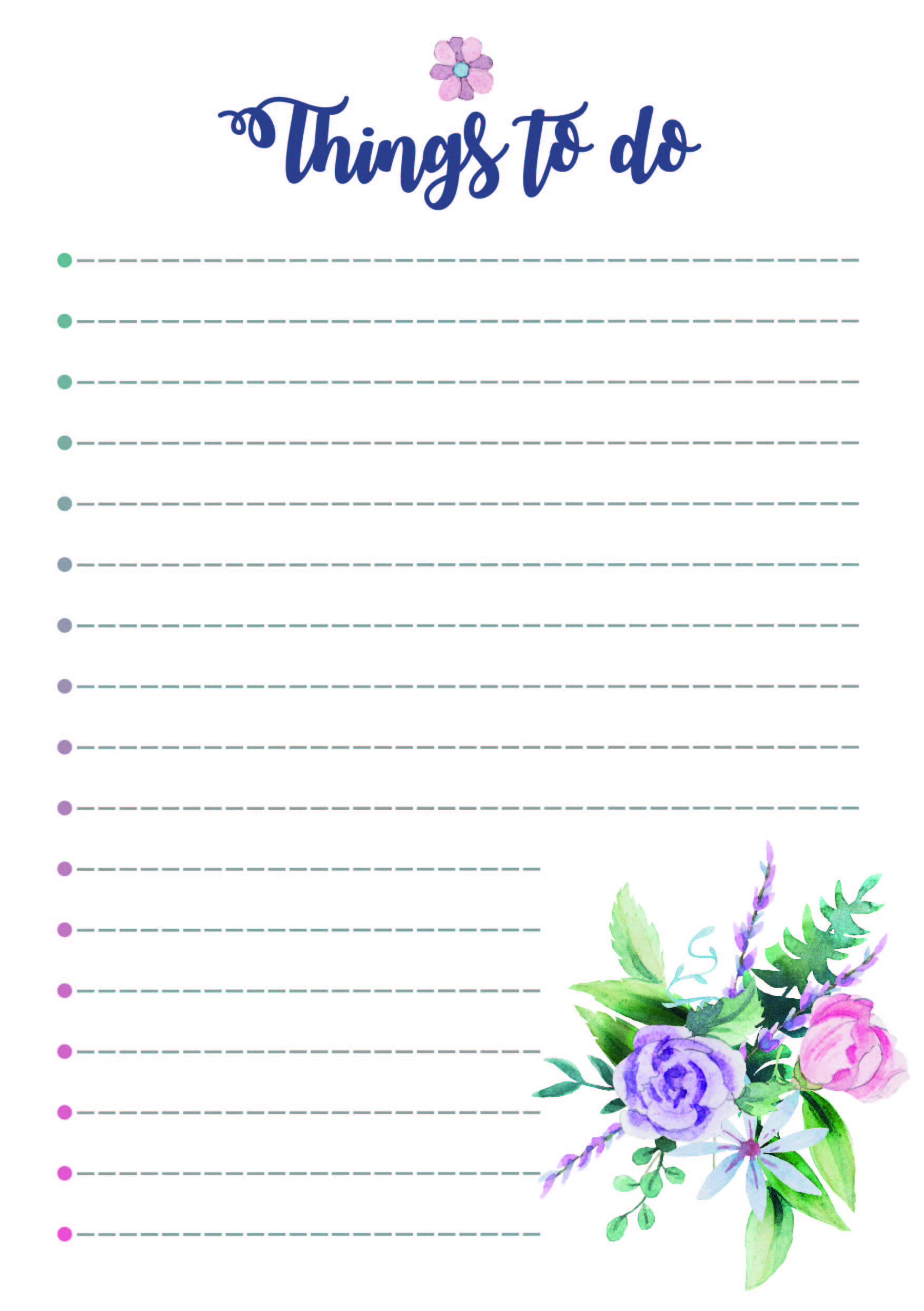 Free To Do List Printable From The Cactus Creative Things