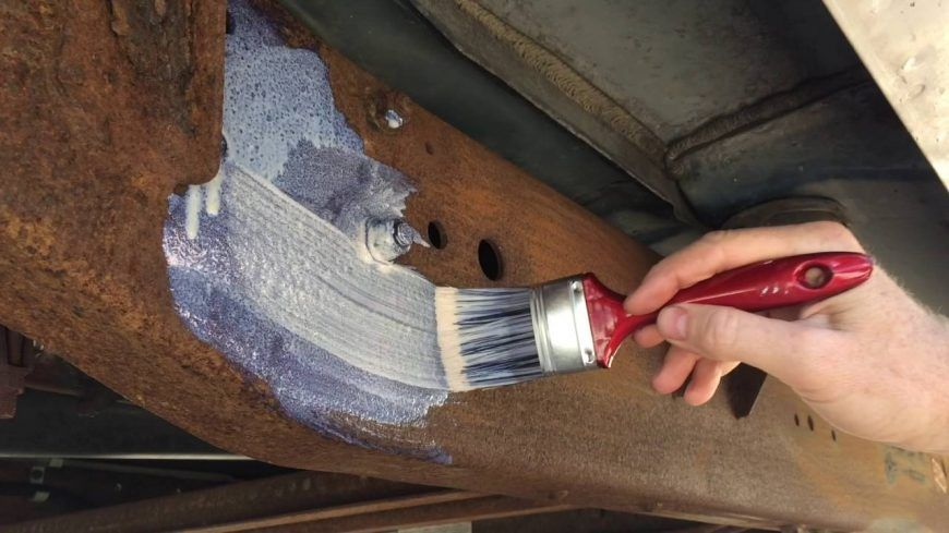 How to paint rusty metal no sanding necessary painting