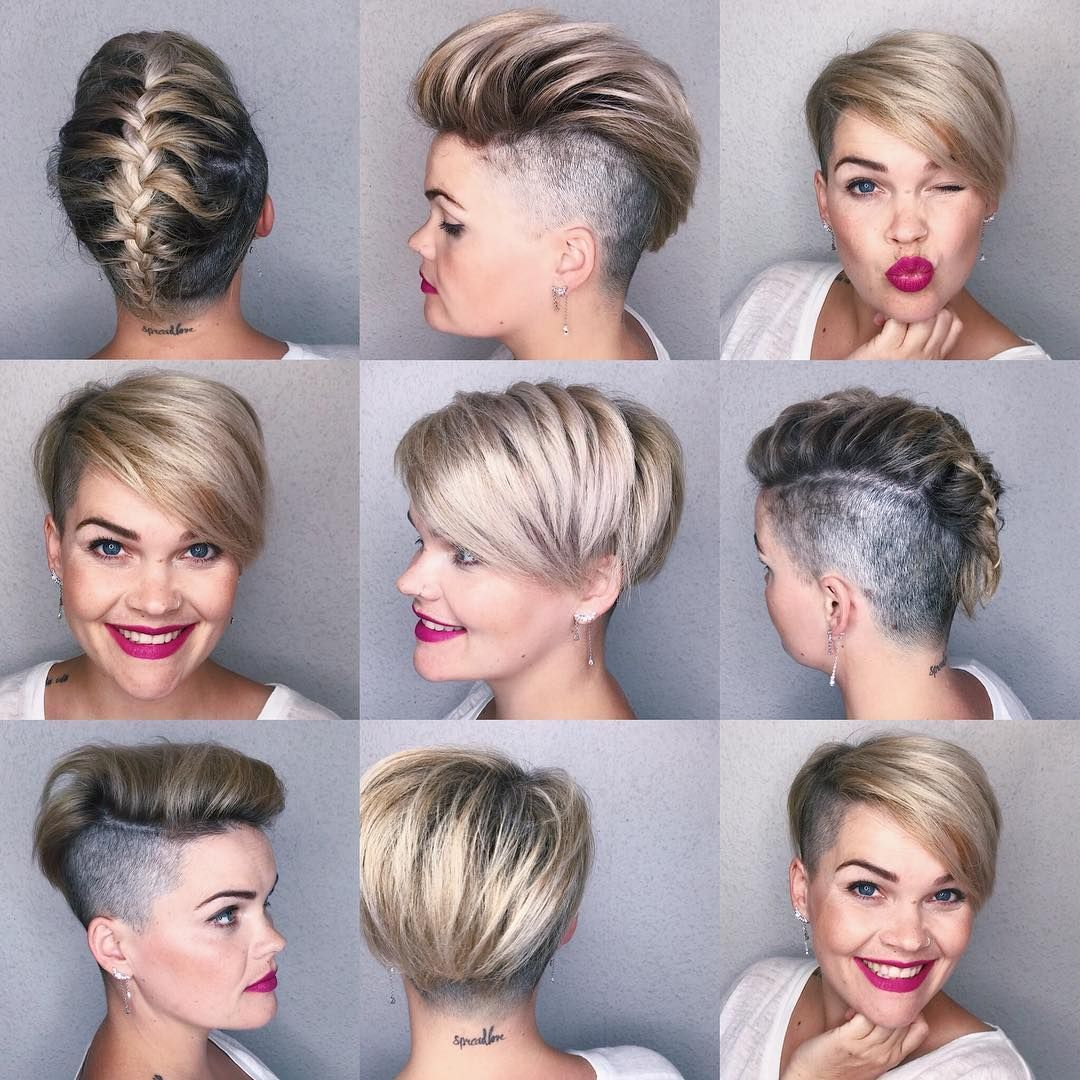 Looking for easy hairstyles for short hair to do at home our friend