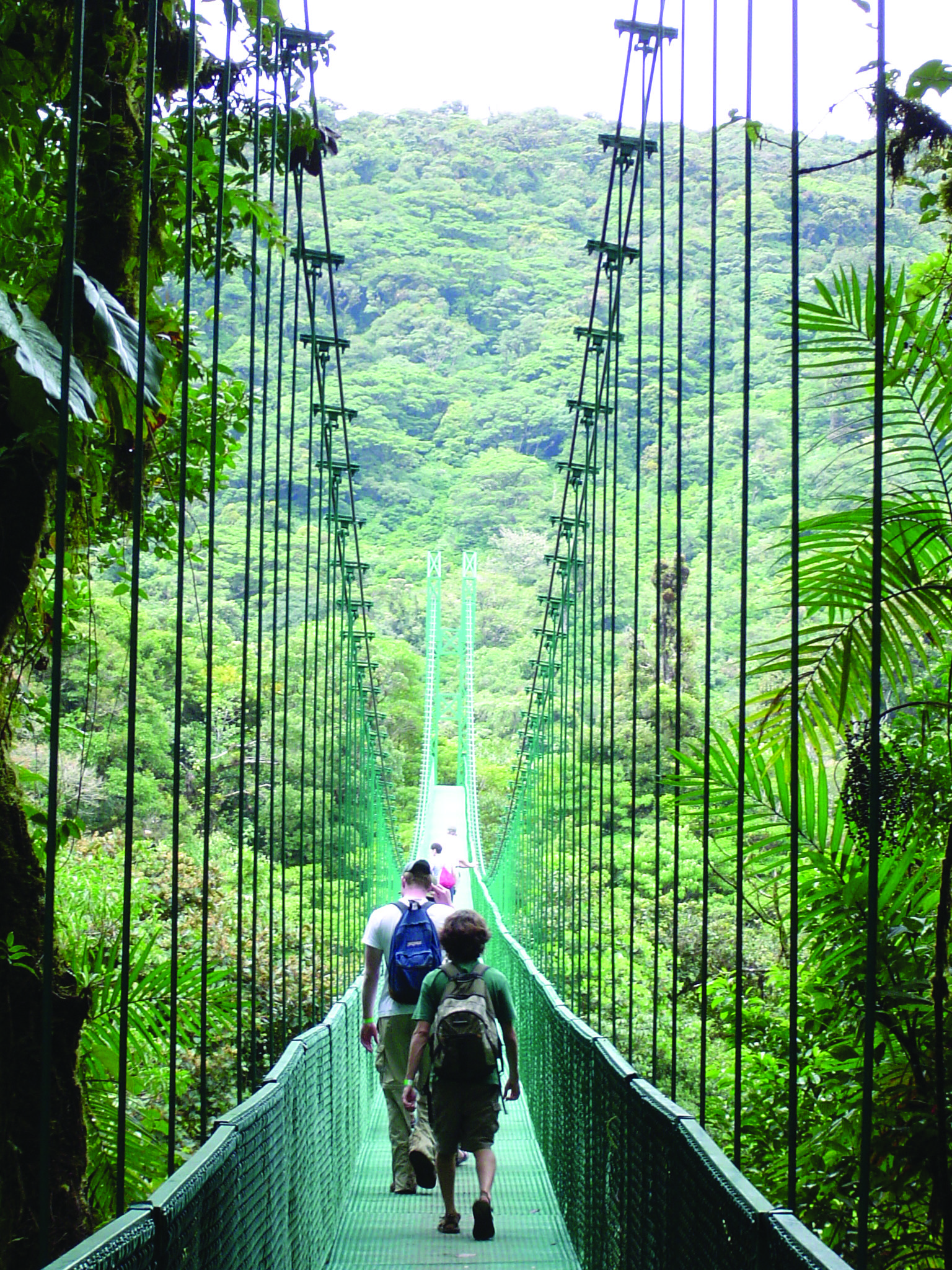 Costa Rica Bridge best place on earth. My second home