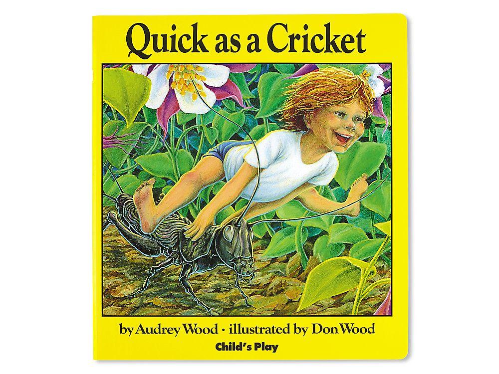 Quick As A Cricket Big Book Big Book Childhood Books Favorite Childhood Books