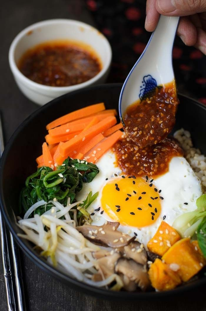 Easy korean bibimbap recipe vegetarian koreanfood bibimbap easy korean bibimbap recipe vegetarian koreanfood bibimbap koreanfoodrecipes forumfinder Image collections