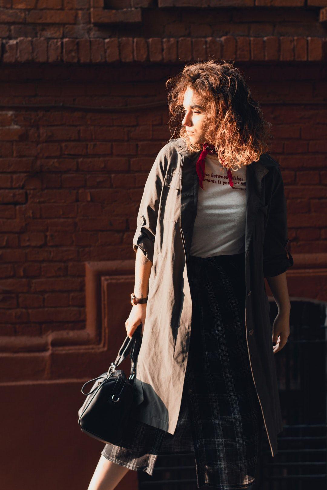 Fashion Designer Salary Per Week Fashion Grey Trench Coat Fashion Articles