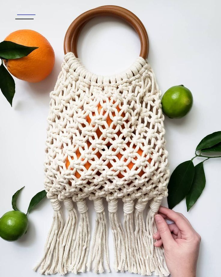 "The Lark's Head on Instagram: ""Who's ready for spring?! Coming soon to my shop... � � � #thelarksheadshop #macrame #macrameartist #macrameart #modernmacrame #macramebag…"" - #hairchains"