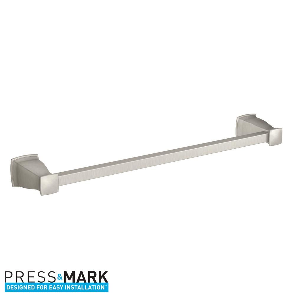 Fresh Double towel Bar Home Depot