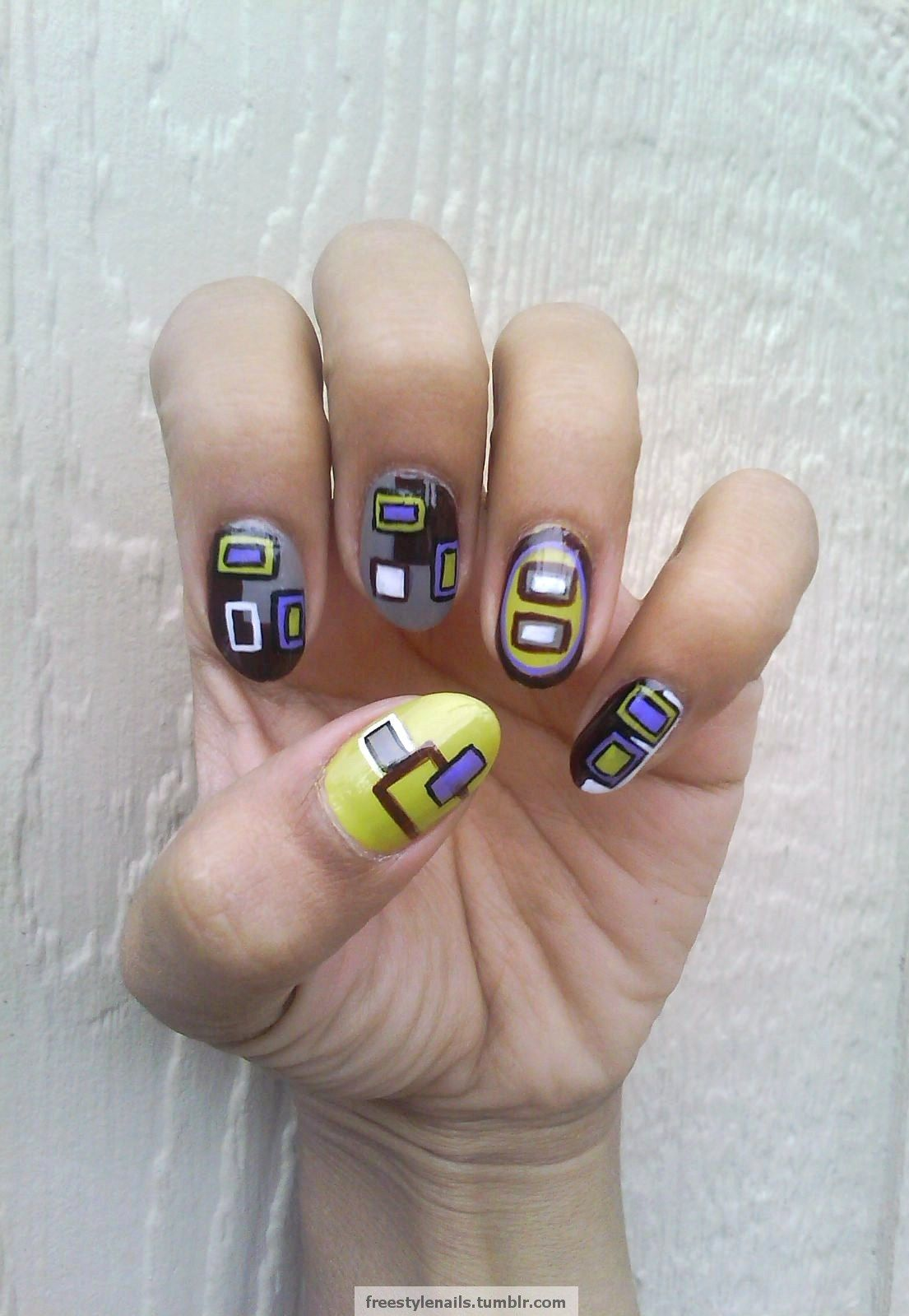 Freestyle Nails | nails | Pinterest