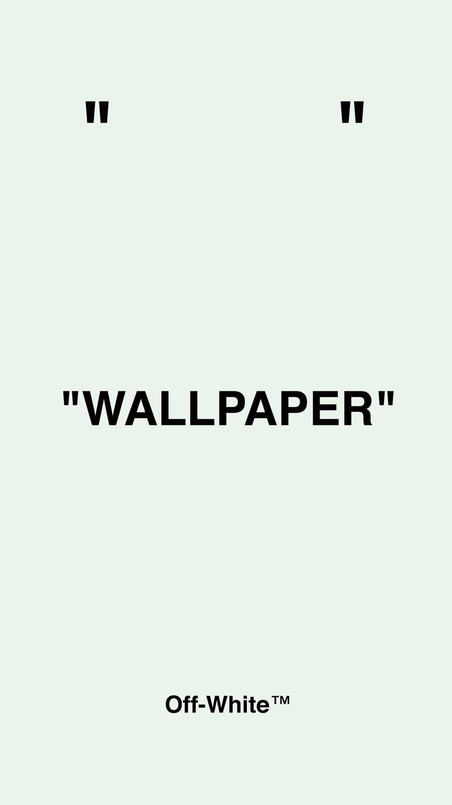Off White On Twitter White Wallpaper For Iphone Iphone Wallpaper Off White White Wallpaper