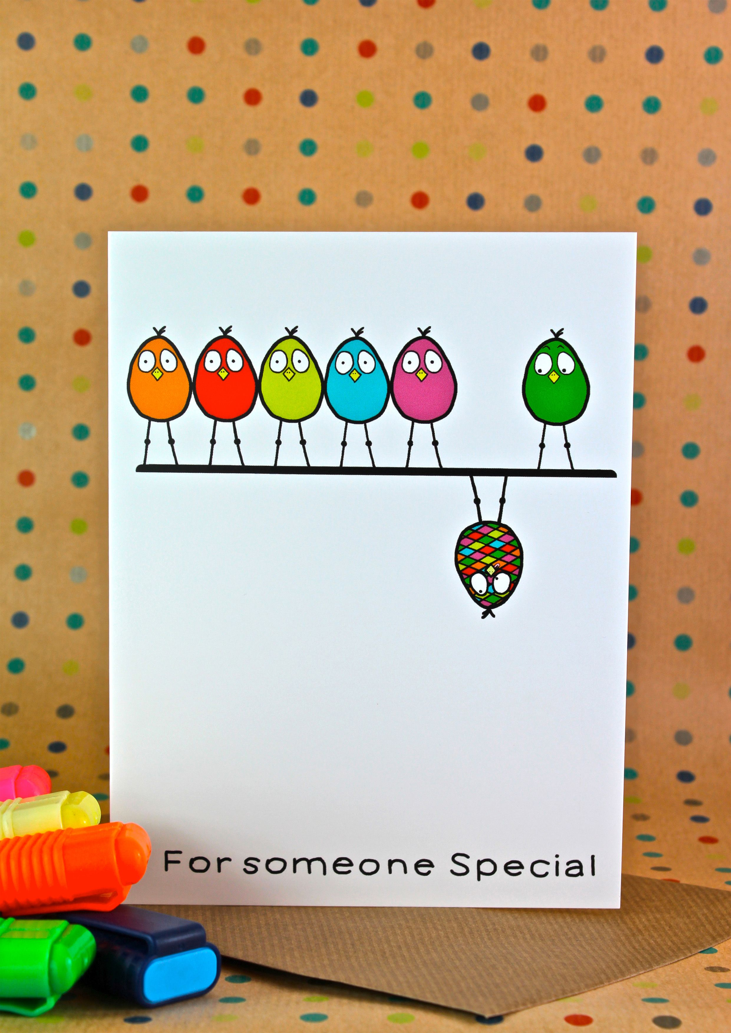 Astounding Someone Special Greeting Card A Funny And Humorous Hand Drawn Funny Birthday Cards Online Barepcheapnameinfo