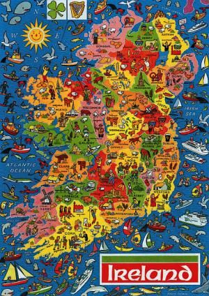 Interactive Jigsaw Map Of Ireland.Picture Puzzle Map Of Ireland Jigsaw Puzzle By Jr Puzzles Puzzle