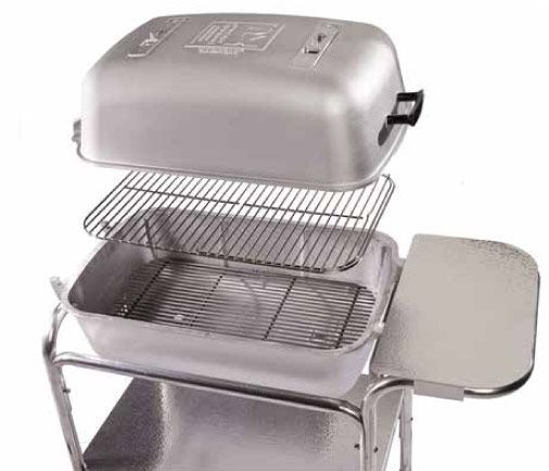 Pk Charcoal Grill Smoker Portable Kitchen