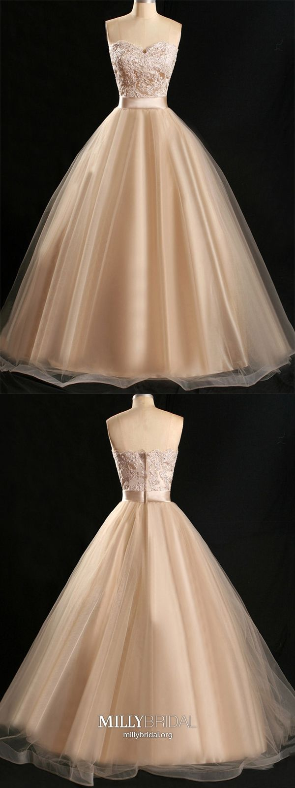 Long prom dresses gold strapless formal evening dresses ball gown