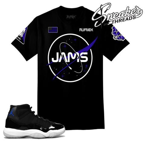 buy online c93f9 17728 Space jam 11 shirt match shoes. Rufnek sneaker tees.