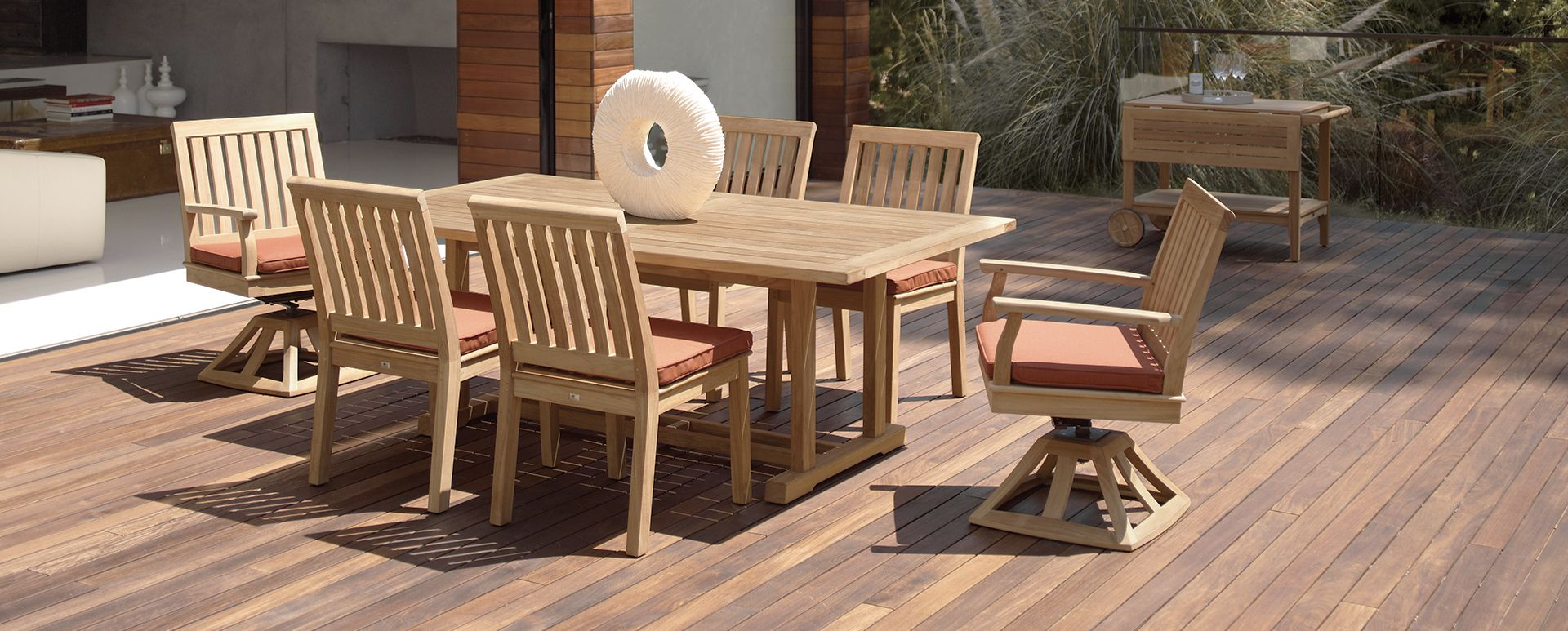 The Gloster Cape Collection. #outdoorfurniture #highend ...