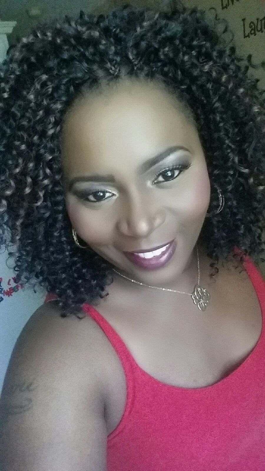 FreeTress Water Wave Hair styled by Ms Pks Crochet Braids