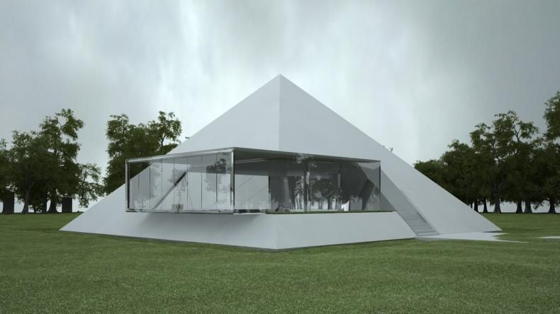 Pyramid House Plans Home Design And Style