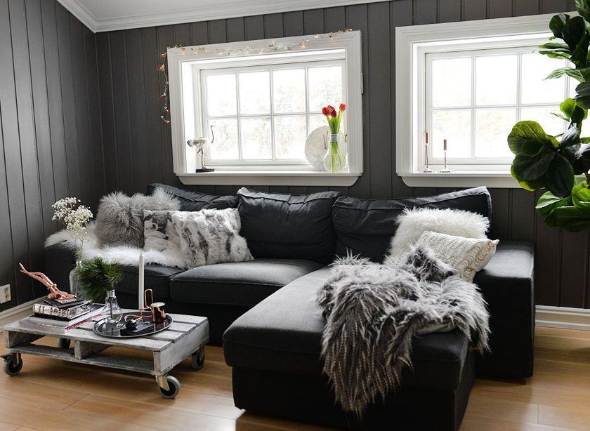 ... hjem-stue-sofa-bord.jpg [ interiors ] Pinterest Annette otoole