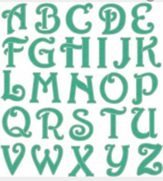 Block Curly Cursive Font   Pinteres