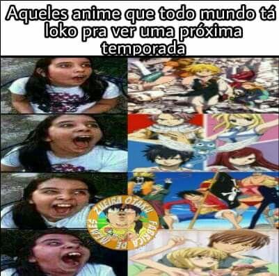 Nova Temporada De Fairy Tail Terminei Nem A 1 Corre Que Da Tempo