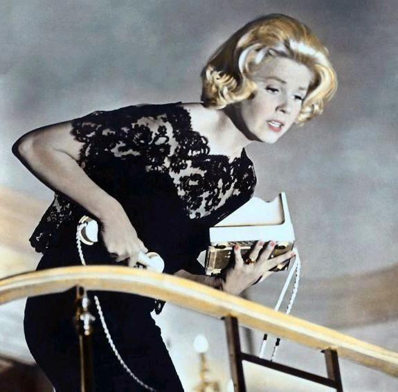 "Doris Day in ""Midnight Lace"" dir David Miller, 1960."