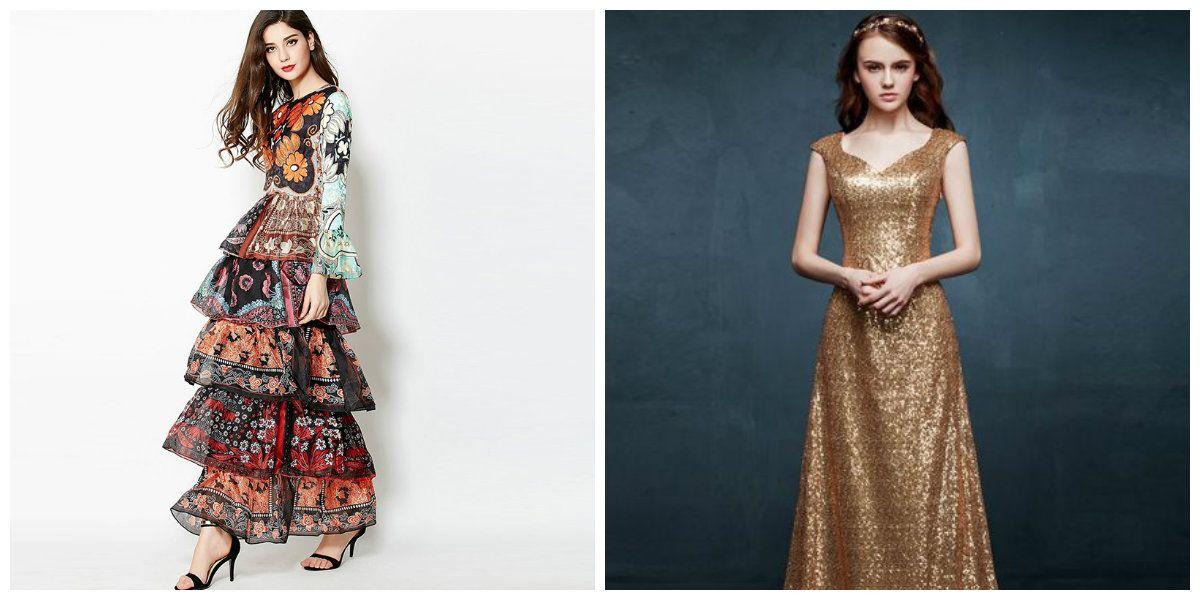 Abendkleider trends 2019