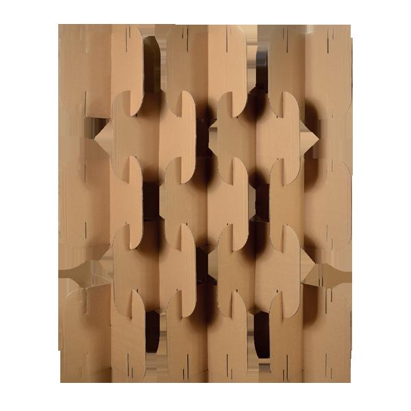 Divisória Elipse - Cartone Design - Móveis de Papelão                                                                                                                                                                                 Mais