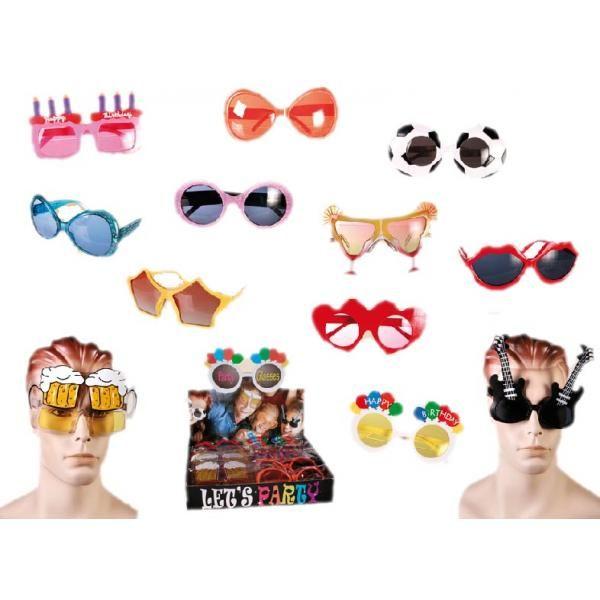 609047f506 Ideal para las noches de fiesta... Con estas divertidas gafas de fiesta,  estamos seguros que serás el alma de la fiesta. Disponible en diferentes  diseños, ...
