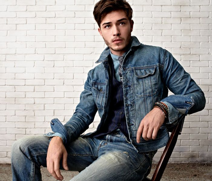 1000  images about Denim Jacket on Pinterest | Men&39s style Denim