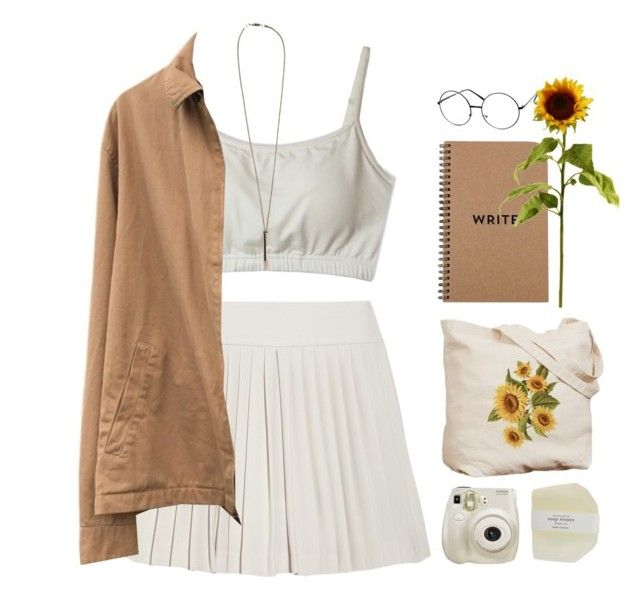 """sunflowers"" by alkalicaroline ❤ liked on Polyvore featuring Fuji, Theory, Polo Ralph Lauren, Serefina, ZeroUV and plus size clothing"