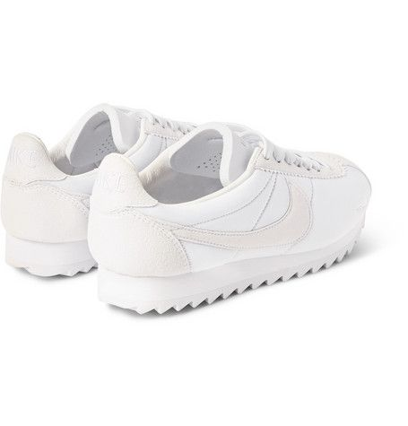 Nike - Cortez Shark SP Suede-Trimmed Neoprene Sneakers