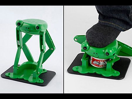 Froggie Can Crusher Funny Kitchen Gadgets Cool Kitchen