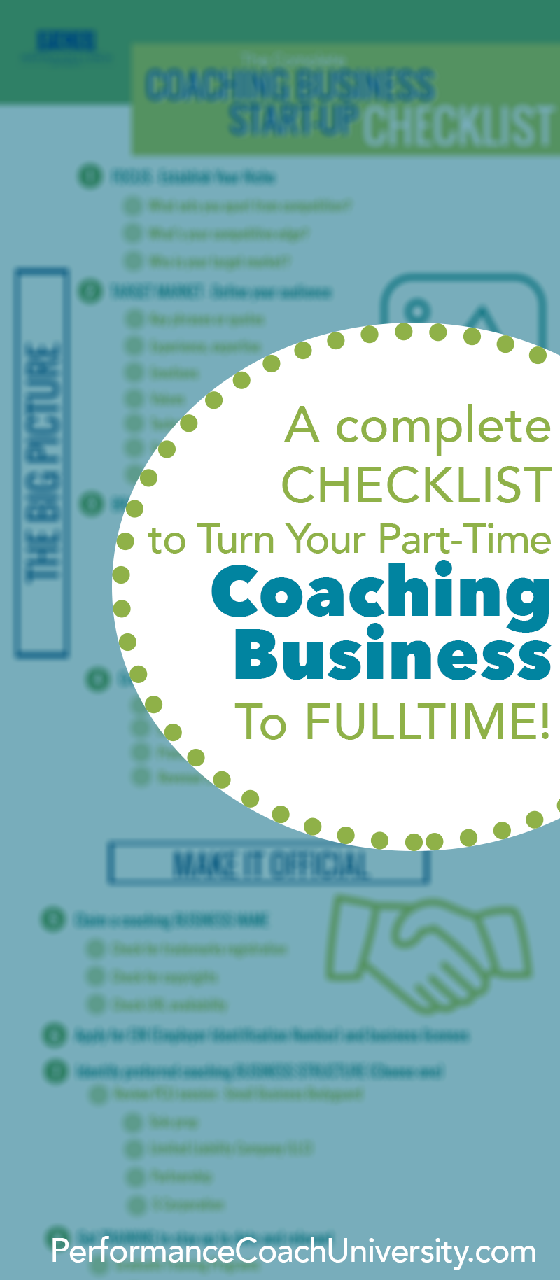 How to start a coaching business. Take your passion or ...