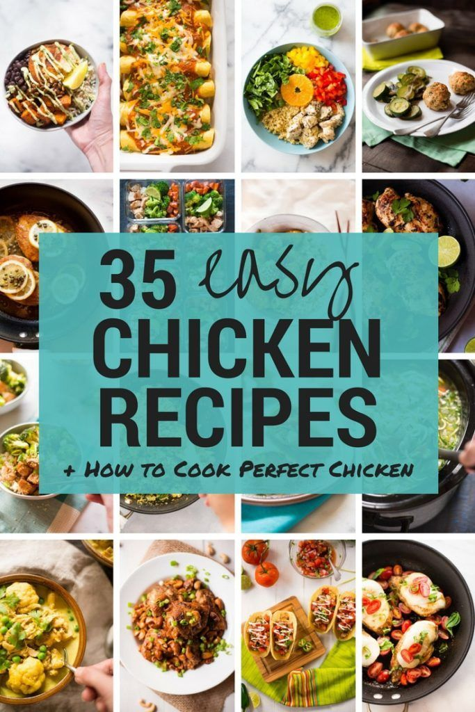 35 Quick and Easy Chicken Recipes images