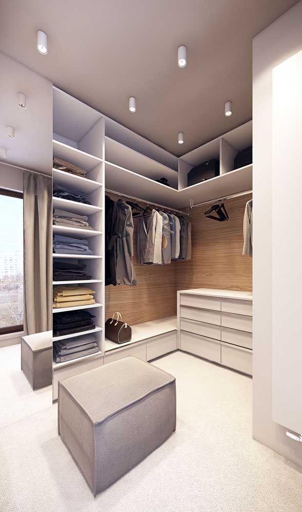 Closet Pequeno Como Montar Dicas E Inspiracoes Design De Closet Projeto De Apartamento Armario De Vestiario