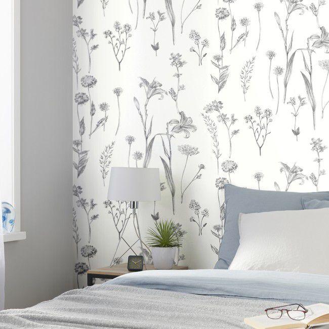 Tapeta Winylowa Na Flizelinie Goodhome Conyza Czarno Biala Tapety Dekoracyjne Goodhome Textured Wallpaper Home Wallpaper