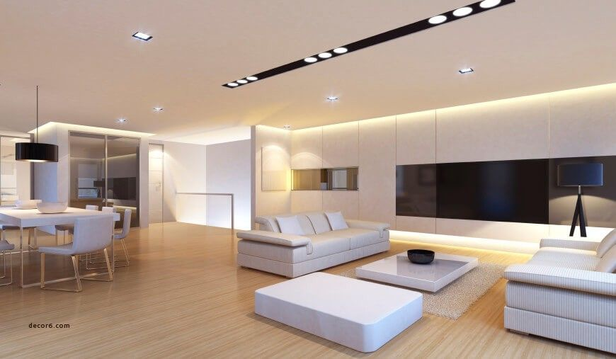 Perfect Modern Living Room Lighting Bright