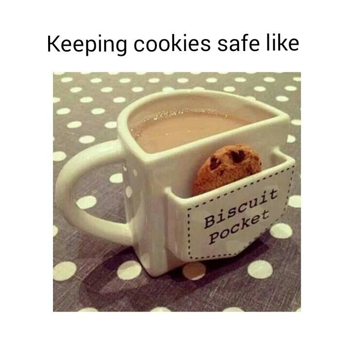 Clever and cute tea cup biscuit\'s holder | Yumyum | Pinterest | Tea ...