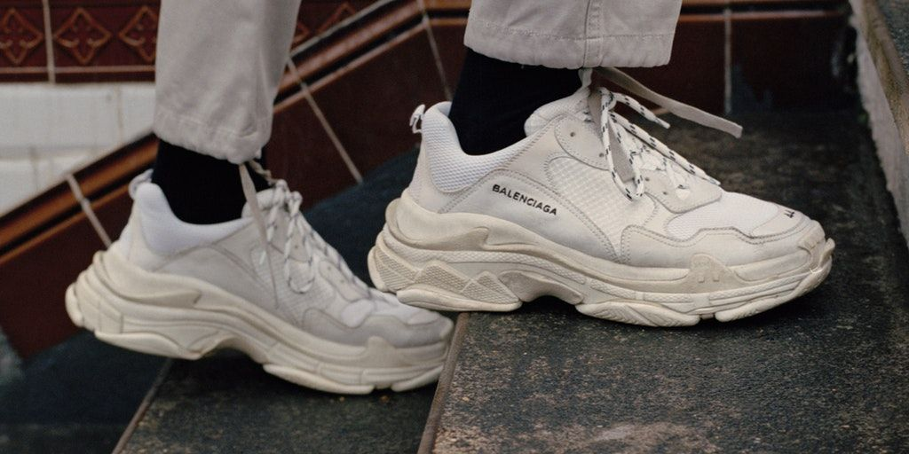 9a5d0470a6d From the Raf Simon's designed Lake Ozweegos to the Balenciaga Triple S,  bulky almost Nike Air Monarch-esque has taken over high end footwear, and  the normal ...