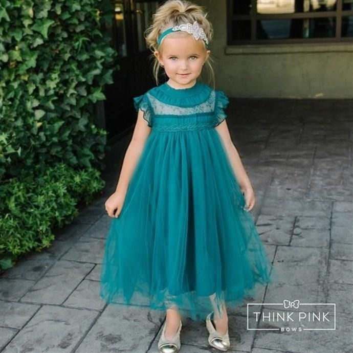 Think Pink Bows Summer Dress Multiple Colors