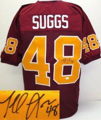 Terrell Suggs Signed/Autographed Arizona State Jersey JSA ...