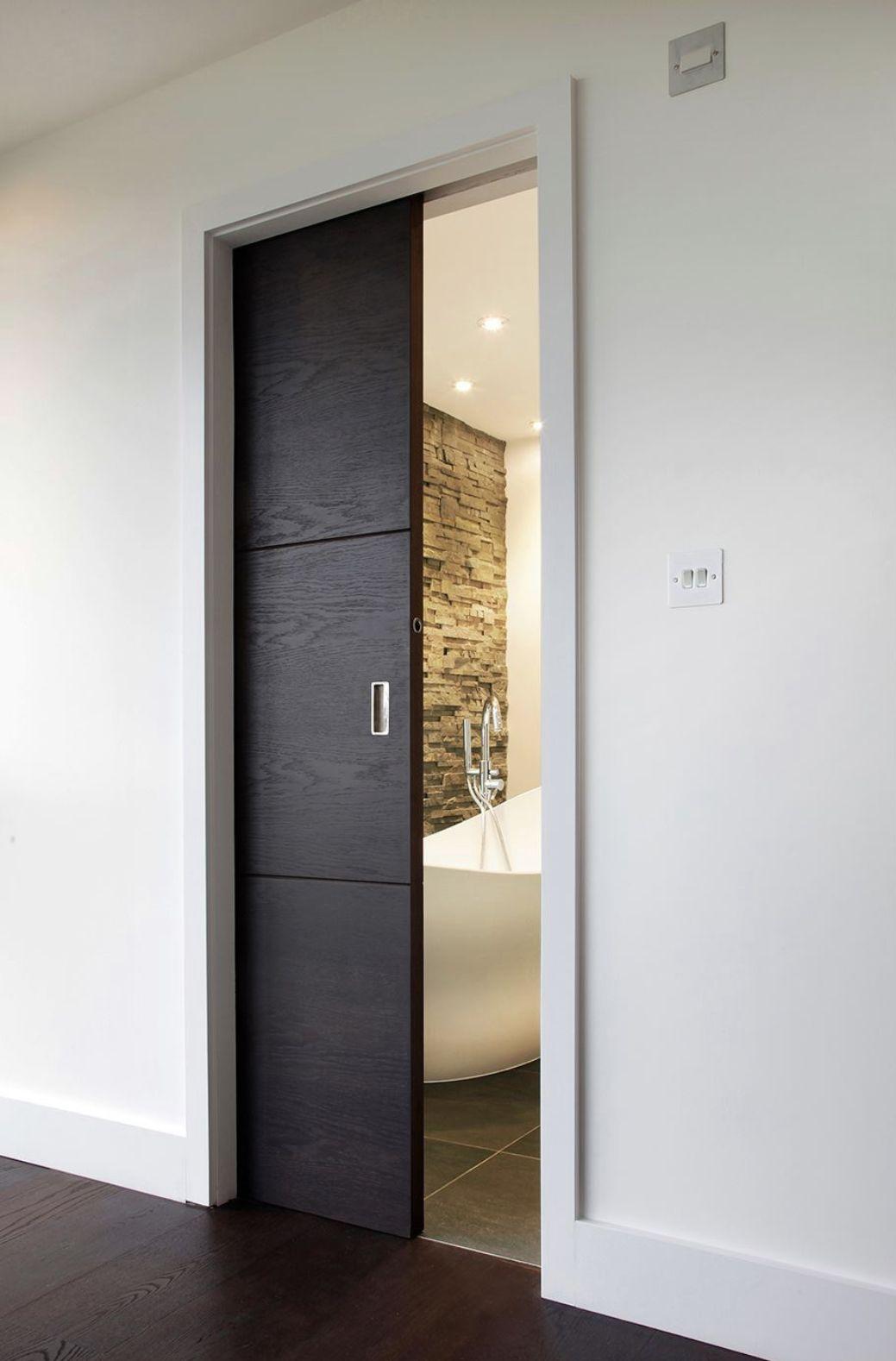 Home Decor 15 Beautiful Pocket Door Ideas Sliding Bathroom
