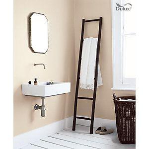 Dulux bathroom soft sheen emulsion paint natural hessian 2 5l bathroom bathroom bathroom for What paint sheen for bathroom