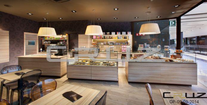 Dise o y decoraci n de panader as pasteler as for Diseno de interiores cafeterias pequenas