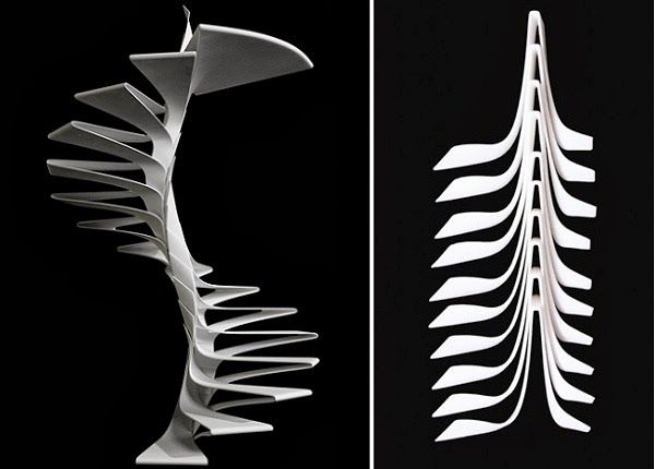 Best Spiral Staircase Folio Staircase From Italian Designers 400 x 300