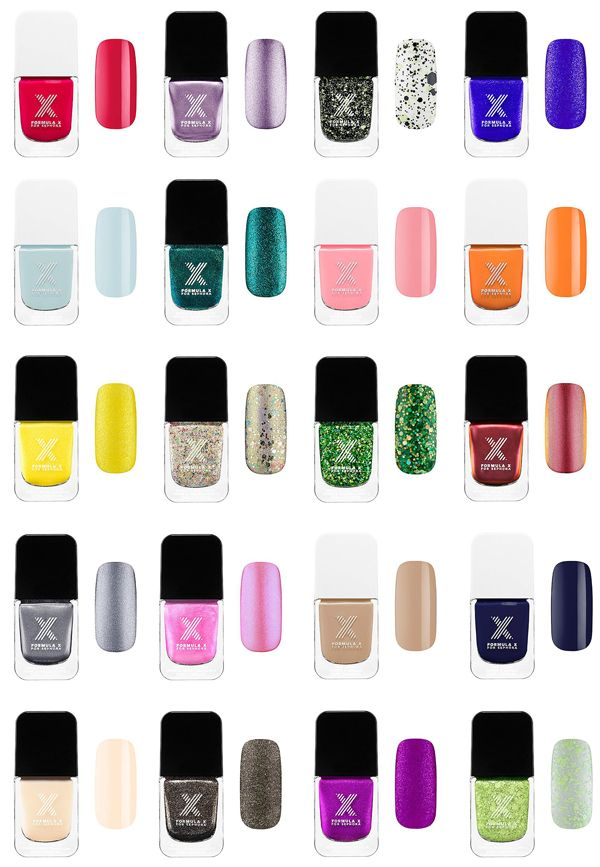 Did Sephora Nail It With Formula X? | Esmalte, Sephora y Espejo
