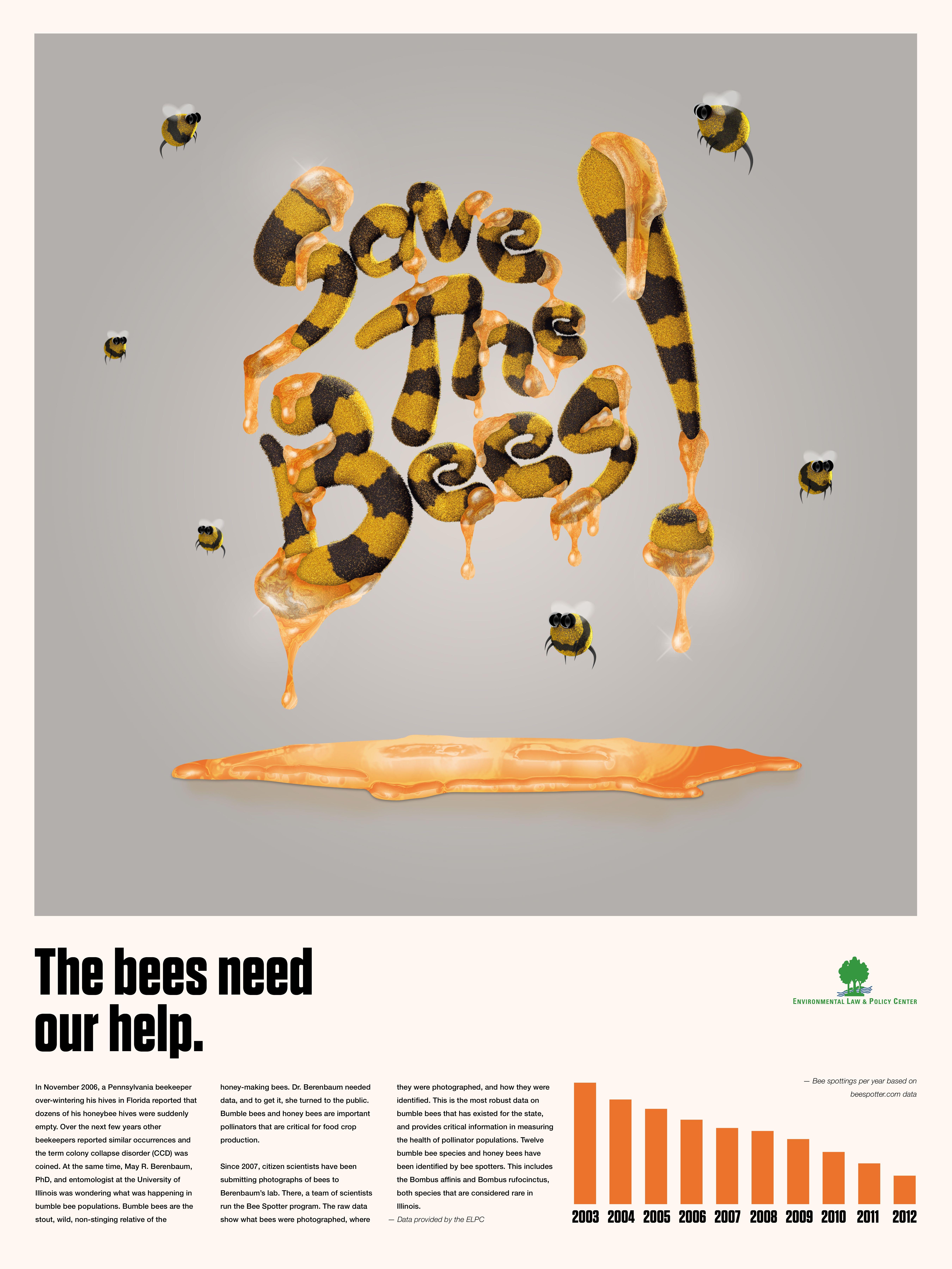 Poster design 3d - Bee Keeping