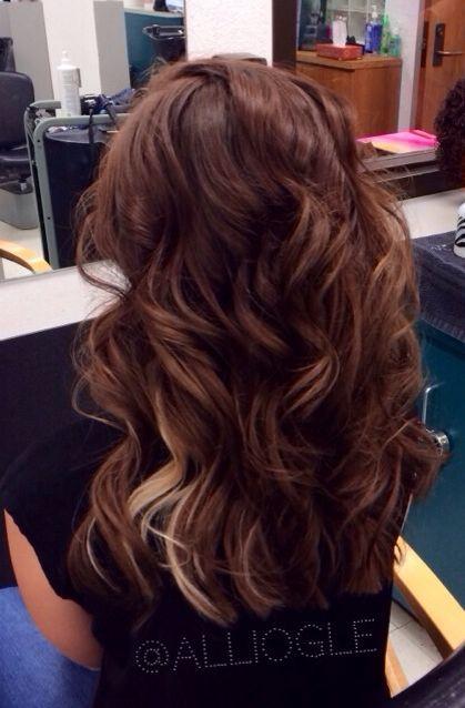 auburn hair with peekaboo - Google Search | Hair | Pinterest ...