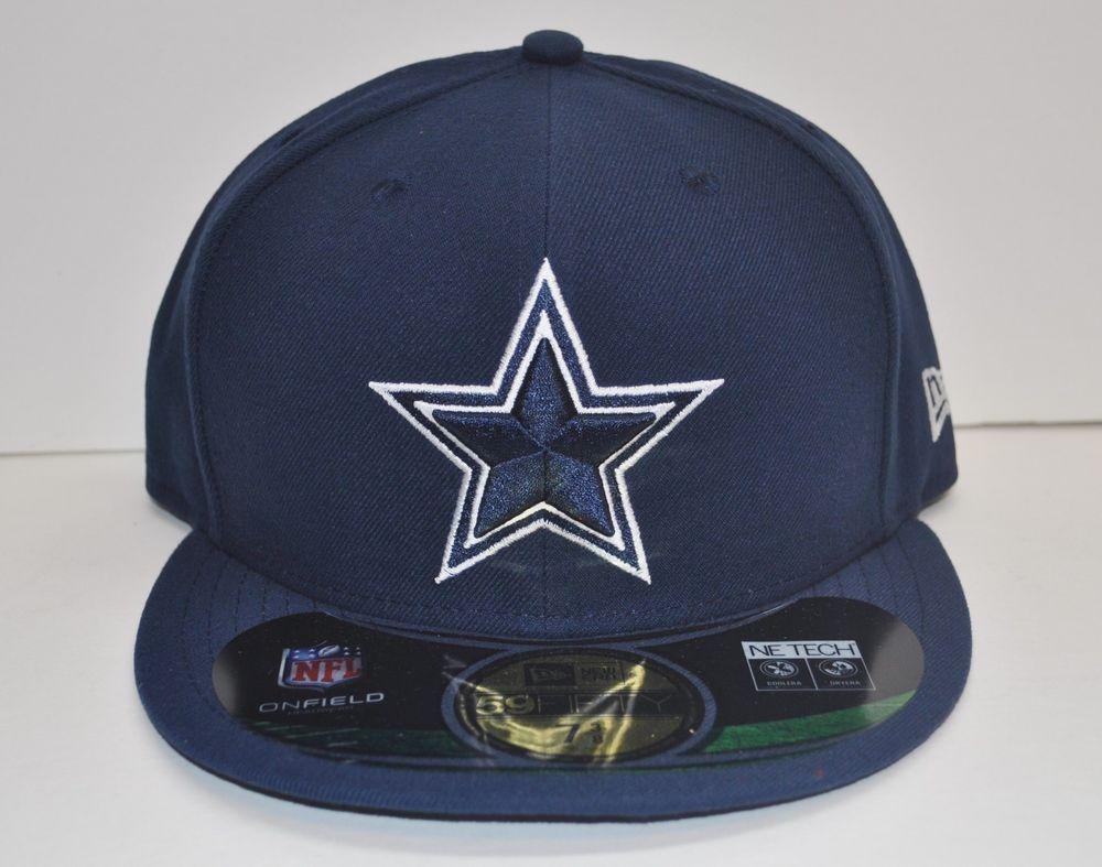 Brand new new era 59fifty dallas cowboys on field cap