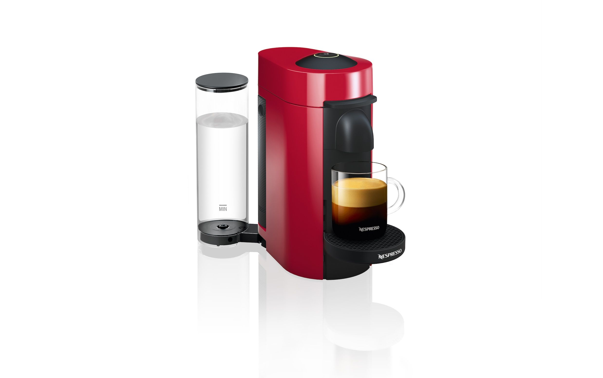 VertuoPlus Cherry Red (With images) Coffee machine